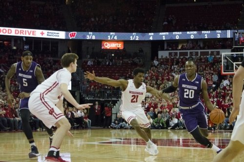 Iverson doing Hayes impression as Wisconsin readies for Northwestern - The Daily Cardinal