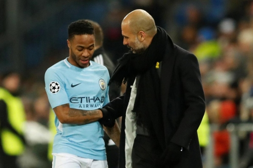Guardiola reveals Sterling is a doubt to face Arsenal in Carabao Cup final