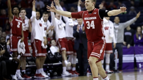 Wisconsin Badgers hang on to defeat Northwestern Wildcats 70-64 for third-straight win