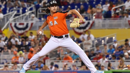 Tampa Bay Rays prospect Brent Honeywell sidelined by right forearm