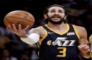 Ricky Rubio (hip) returns to practice, questionable for Jazz on Friday
