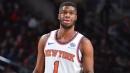The New York Knicks will start Emmanuel Mudiay at point guard Thursday night against the Orlando Magic