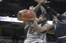 Jalen Adams out sick, UConn men routed by Cincinnati