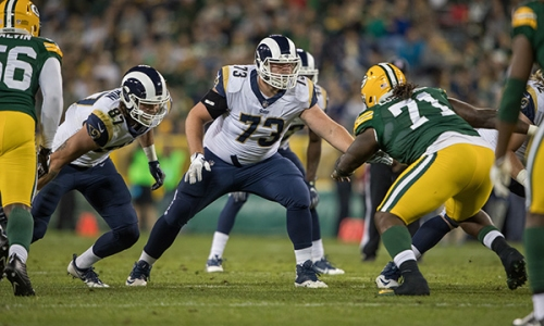 Rams Sign Offensive Tackle Michael Dunn