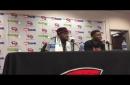 VIDEO: WKU guards Josh Anderson, Lamonte Bearden on the Hilltoppers' win against Charlotte