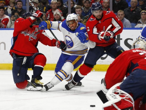Ovechkin scores 35th goal in Capitals' 3-2 win over Sabre