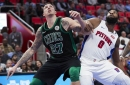 Celtics begin final stretch on the road against the Pistons