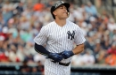 Yankees win spring training opener as Aaron Boone, Giancarlo Stanton debut in pinstripes