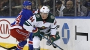 Granlund, Staal each scored twice, Wild beat Rangers