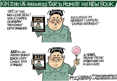 Daily Fitz Cartoon: North Korea