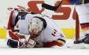 Flames place goaltender Mike Smith on injured reserve