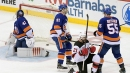 Palmieri scores twice in third to lead Devils past Islanders
