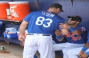 Mets' Dominic Smith to go for MRI while Jay Bruce, Tim Tebow dealing with minor injuries
