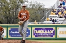Texas baseball routs LSU 11-1 in series finale