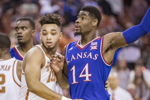 Texas heads to Kansas as Longhorn fans wrap their brains around the Eric Davis situation