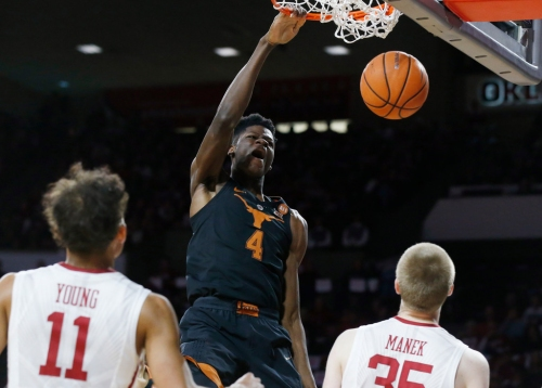 Mo Bamba to miss Longhorns' Monday night matchup vs. Kansas