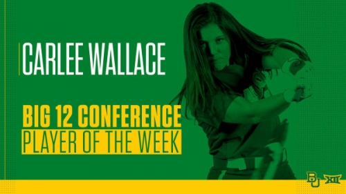 SB's Wallace Named Big 12 Player of the Week