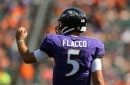 Ravens News & Notes: A Surprisingly Low Ranking for Joe Flacco