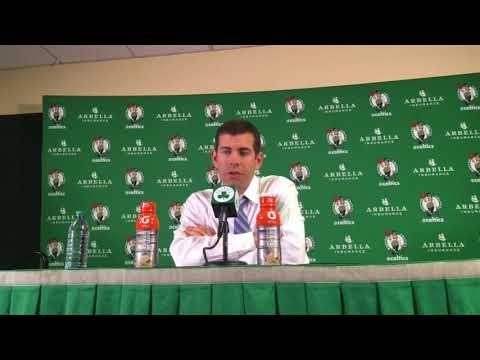 Brad Stevens after sitting Boston Celtics big man Greg Monroe: 'He's going to figure it out'