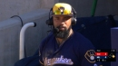 Eric Thames uses literature to find comfort