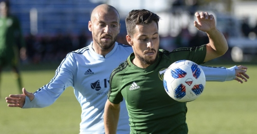 Armenteros with the Double as Timbers Overcome Sporting Kansas City 3-2