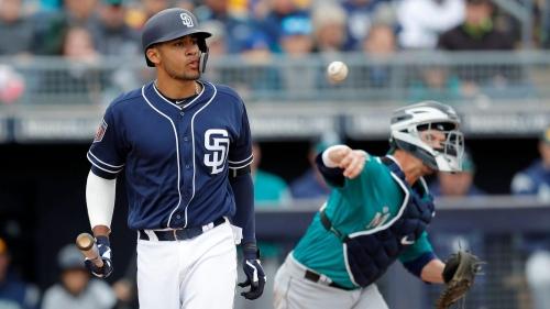 As Eric Hosmer set to debut, Tatis is among future Padres to have gotten big jump