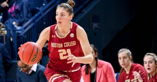 Boston College Women's Basketball Ends 2017-18 Regular Season With a Loss