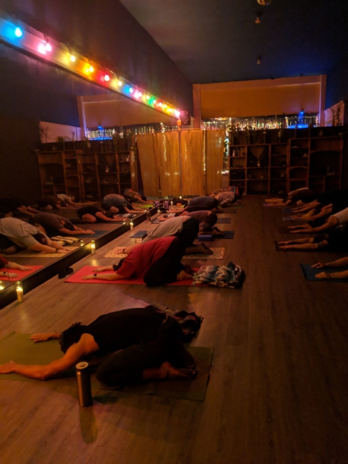 Yoga for bodies that don't bend, tai chi and meditation