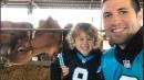 Carolina Panther Graham Gano and dairy farmer partner for kids | Charlotte Observer