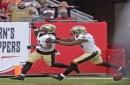 Saints claim offensive tackle John Theus, cut linebacker Gerald Hodges