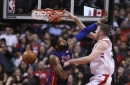 Detroit Pistons blown out by Toronto Raptors on the road