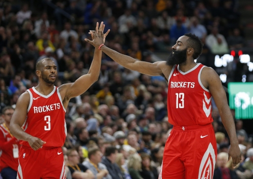 James Harden's mom forced Chris Paul to commit a rare turnover