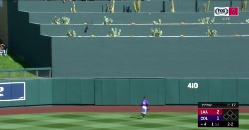 WATCH: Veteran Angels catcher Rene Rivera hits cactus with home run blast (VIDEO)