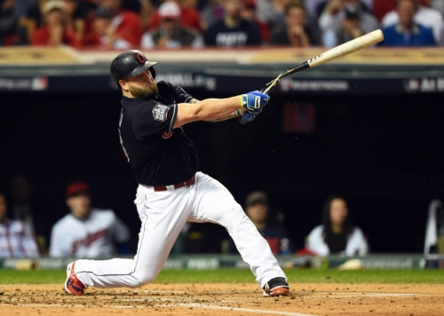 Mike Napoli is back with the Indians, but both parties know...