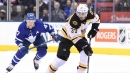 Bruins lose MVP candidate Patrice Bergeron indefinitely with fractured foot