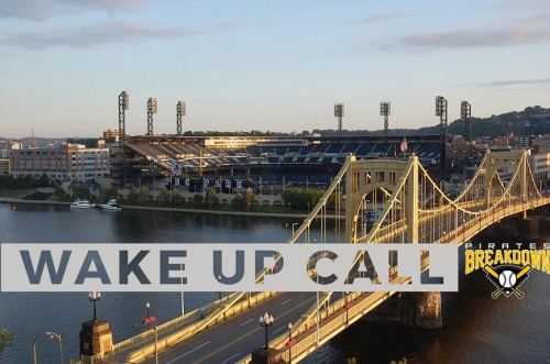 Pittsburgh Pirates Wake Up Call - We've Got Corey in the House