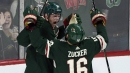 Staal's hat trick leads surging Wild past slumping Blues