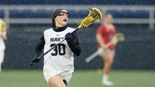 No. 8 Navy falls to No. 2 Boston College in women's lacrosse, 20-14
