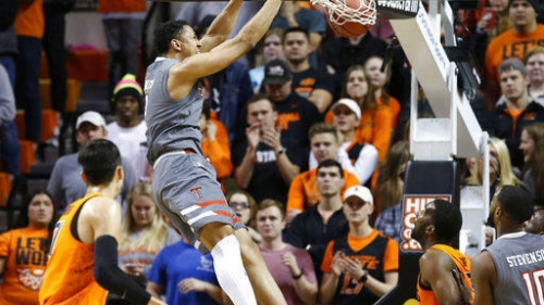 Oklahoma State upsets No. 6 Texas Tech; Virginia clinches ACC title