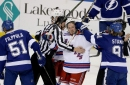 Newly acquired J.T. Miller, Ryan McDonagh skate with Lightning