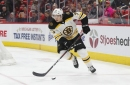 Charlie McAvoy OT goal leads Boston Bruins to 4-3 win over Hurricanes on big night from Rick Nash, Tommy Wingels