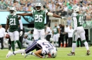 Jets rookie safety Marcus Maye underwent ankle scope after season