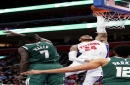 Detroit Pistons center Eric Moreland has career night against Milwaukee