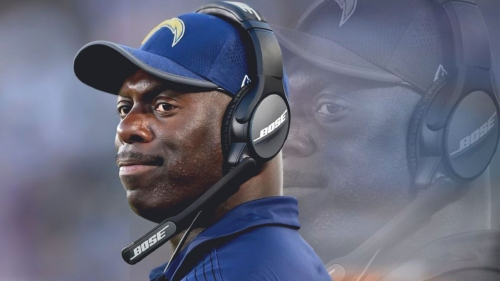 Chargers head coach Anthony Lynn open to team drafting a QB