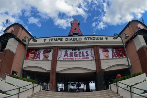 Cubs visit Angels at Tempe Diablo Stadium