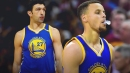 Stephen Curry chooses not to snitch on Zaza Pachulia when asked about ankle injury