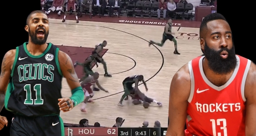 Video: Kyrie Irving stops James Harden, Chris Paul in one possession