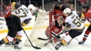 Tatar scores first, Fleury makes 33 saves as Vegas tops Devils