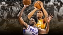 Jazz rookie Donovan Mitchell joins Joel Embiid with scoring mark only matched recently by Shaquille O'Neal, Allen Iverson