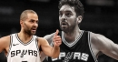 Tony Parker says Pau Gasol hurt shoulder and will likely miss Warriors game
